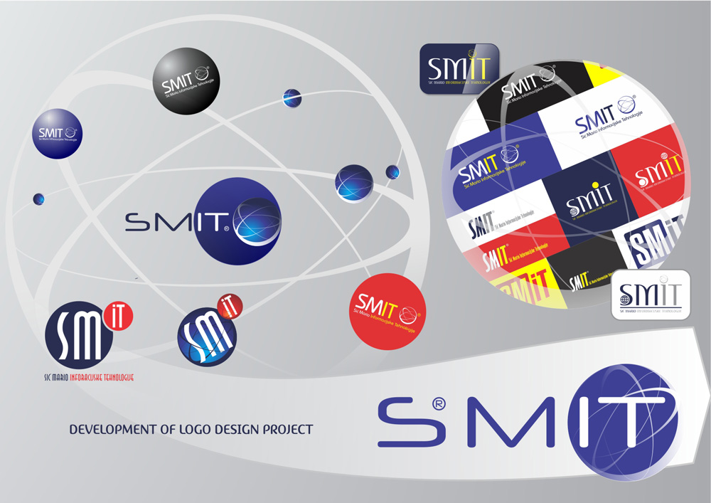 Развојни процес дизајнирања SMIT логотипа