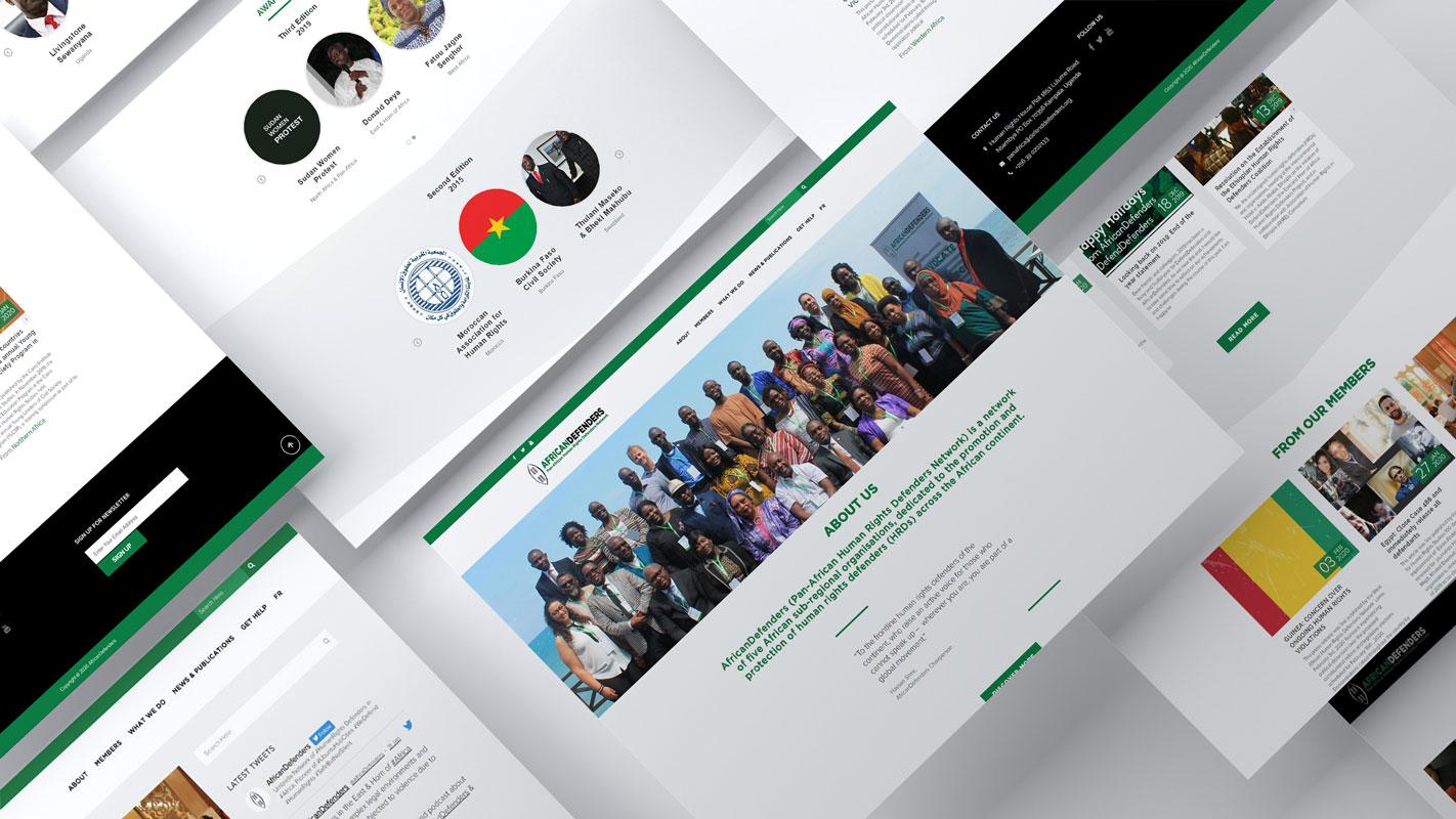 African Defenders веб-сајт
