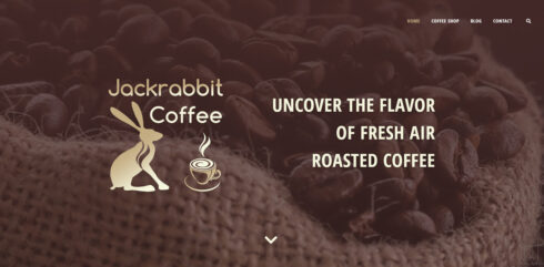 Jackrabbit Coffee заглавље